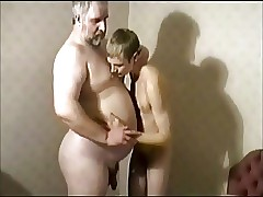 Grandpa hot clips - gay twink fisting